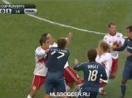 David Beckham-Thierry Henry : Bagarre générale et simulation à hurler de rire !