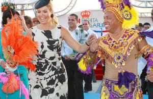 La princesse Maxima déchaînée dans la fiesta antillaise