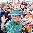 Arrivée des royaux néerlandais à Oranjestad, capitale d'Aruba, le 28 octobre 2011.   La reine Beatrix, le prince Willem-Alexander et la princesse Maxima des Pays-Bas sont en visite dans les ex-Antilles néerlandaises du 28 octobre au 6 novembre 2011.