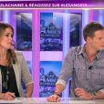Matthieu Delormeau et Jeny Priez dans les Anges de la télé-réalité, le mag, lundi 31 octobre 2011 sur NRJ 12