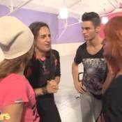 DALS2 - Lalanne surprend Baptiste Giabiconi et Fauve : ''Ca va les amoureux ?''
