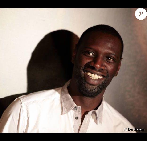 Omar Sy à Paris pour l'avant-première d'Intouchables le 18 octobre 2011
