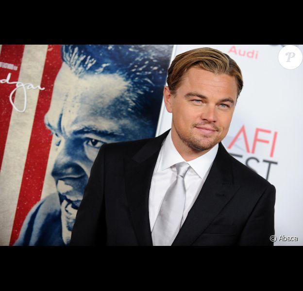 Leonardo DiCaprio le 3 novembre à Los Angeles.