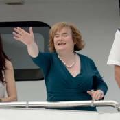Susan Boyle, le pied marin, mais pas aérien : petit scandale à bord d'un avion