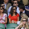 Pippa Middleton et Alex Loudon à Wimbledon en juin 2011.