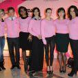 La campagne ruban rose d'octobre 2011 en France, soutenue par quelques femmes fortes du PAF.