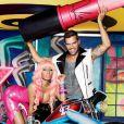 Nicki Minaj et Ricky Martin, campagne Viva Glam de MAC, automne 2011.