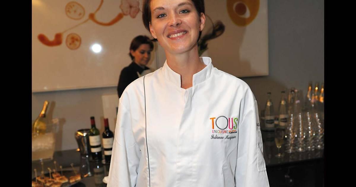 La gagnante fabienne marginier apr s la finale du premier - Concours cuisine amateur ...