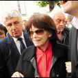 Danielle Mitterrand à Paris, le 10 mai 2011.