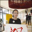 L'actrice Ziyi Zhang récolte des fonds pour les victimes du tremblement de terre en Chine