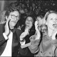 Jean Rochefort et son épouse Nicole lors du Gala de l'Union des artistes 1981.