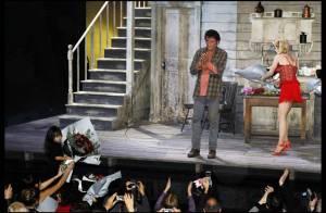 Johnny Hallyday, sa dernière au théâtre, illuminée par Jade et Joy : il raconte