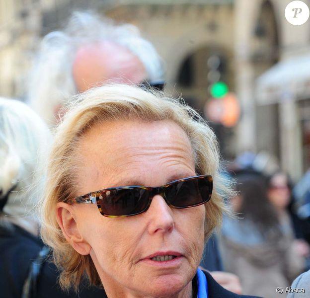 Christine Ockrent à Paris le 5 mai 2011.