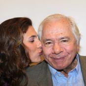 Michel Galabru : Acteur heureux, entouré de sa famille et de Laetitia Milot