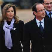 Obsèques Danielle Mitterrand : François Hollande et sa compagne près de Mazarine