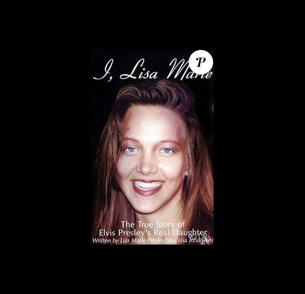 La Suédoise Lisa Johansen en couverture de son livre en 1998.