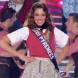 Les Miss défilent en tenues régionales, le samedi 3 décembre 2011 à Brest à l'occasion de l'élection de Miss France 2012.
