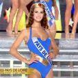 Les Miss défilent en maillot de bain, le samedi 3 décembre 2011 à Brest à l'occasion de l'élection de Miss France 2012.