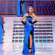 Miss Roussillon défile lors du tableau Gilda, élection Miss France 2012, samedi 3 décembre 2011, sur TF1