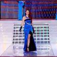Miss Alsace pendant le tableau Gilda, élection Miss France 2012, samedi 3 décembre 2011, sur TF1