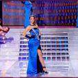 Miss Bretagne pendant le tableau Gilda, élection Miss France 2012, samedi 3 décembre 2011, sur TF1