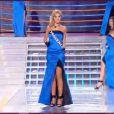 Miss Provence pendant le tableau Gilda, élection Miss France 2012, samedi 3 décembre 2011, sur TF1