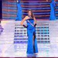 Miss Midi-Pyrénées pendant le tableau Gilda, élection Miss France 2012, samedi 3 décembre 2011, sur TF1