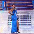 Miss Guyane pendant le tableau Gilda, élection Miss France 2012, samedi 3 décembre 2011, sur TF1