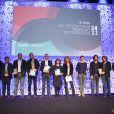 Les lauréats de la soirée 'Prix Du Producteur Français De Télévision' à Paris, le 5 décembre 2011