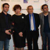 Roselyne Bachelot, toujours mincissime, honore les réalisateurs d'Intouchables