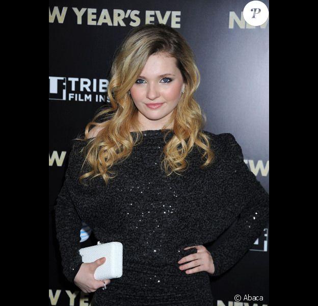 Abigail Breslin, à New York, le 7 décembre 2011.