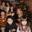 Amanda Sthers a donné vie à un conte de Noël le mercredi 7 décembre à la Librairie Carré d'Encre à Paris