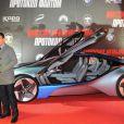Tom Cruise, Paula Patton et une voiture incroyable à Moscou, le 8 décembre 2011 pour présenter Mission : Impossible - Protocole Fantôme.