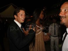 PHOTOS  EXCLUSIVES : Christophe Rocancourt et Naomi Campbell, coup de foudre cannois ?