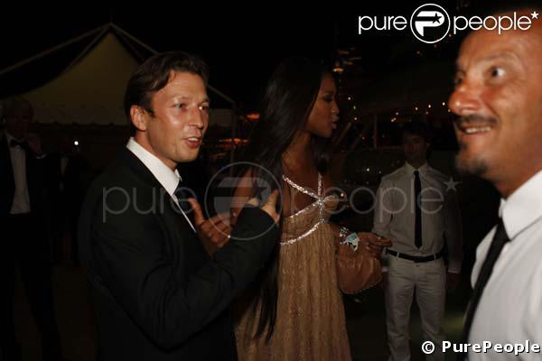 Christophe Rocancourt et Naomi Campbell