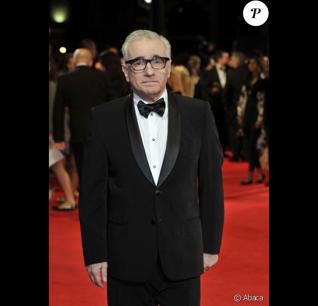 Martin Scorsese à Londres le 28 novembre 2011
