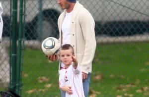 David Beckham subjugué par sa fille Harper, Victoria supportrice de ses garçons