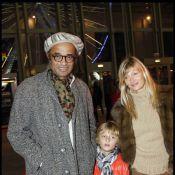 Yannick Noah avec sa compagne Isabelle Camus et leur fils: les rois de la fête