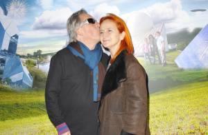 Gilbert Montagné très amoureux de son épouse, devant Tex en famille