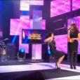 Jenifer chute dans La fête de la chanson sur France 2