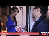 Jade Foret joue les conseillers politiques, en boxeuse sexy ou en peignoir