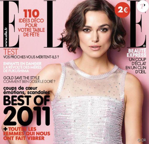 Retrouvez l'interview de Keira Knightley dans Elle, 23 décembre 2011.