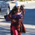 Vanessa Hudgens se rend à son cours de yoga, le vendredi 23 décembre à Los Angeles.