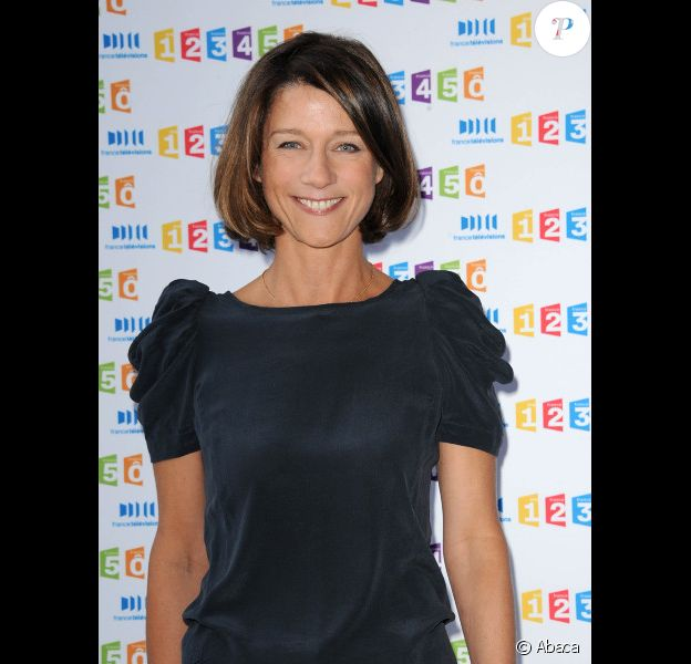 Carole Gaessler en août 2011 à Paris