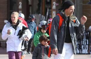 LeAnn Rimes et Eddie Cibrian : Leurs premières vacances en famille au ski