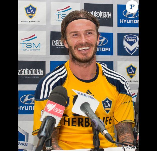 David Beckham le 5 décembre 2011 à Melbourne