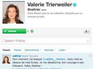 Valérie Trierweiler défend François Hollande : elle tacle sévère Nadine Morano