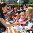 Kate Middleton le 10 juillet 2011 à Los Angeles.   Kate Middleton célèbre le 9 janvier 2012 son 30e anniversaire. Les mois qui ont précédé l'ont vue faire ses débuts dans la famille royale, en tant que Catherine, épouse du prince William et duchesse de Cambridge, et irradier le monde de son charme.