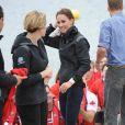 Au lac Dalvay, à l'île du Prince Edward et à Dalvay-by-the-sea le 4 juillet 2011.   Kate Middleton célèbre le 9 janvier 2012 son 30e anniversaire. Les mois qui ont précédé l'ont vue faire ses débuts dans la famille royale, en tant que Catherine, épouse du prince William et duchesse de Cambridge, et irradier le monde de son charme.