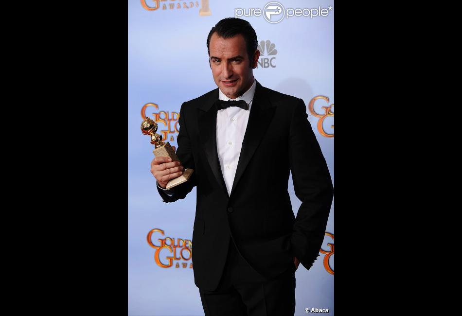 Jean dujardin lors des golden globe awards beverly hills for 94 jean dujardin